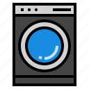 laundry, machine, washing