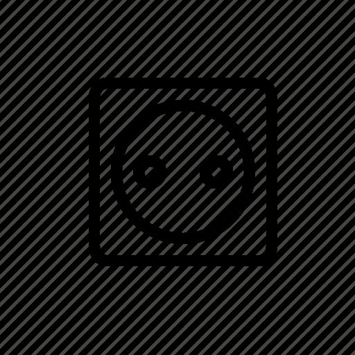 Electric, electricity, ground, jack, plug, socket icon - Download on Iconfinder