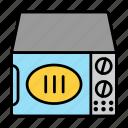 kitchen, micro, mincrowave, oven, range, wave