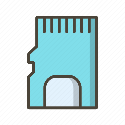 Memory card, sd card icon - Download on Iconfinder