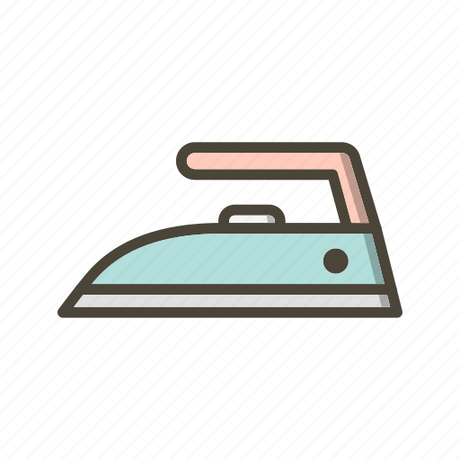Ironing, steam, electric iron icon - Download on Iconfinder