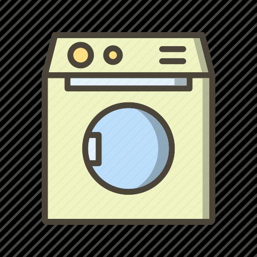Laundry, washing, washing machine icon - Download on Iconfinder