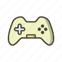 control pad, game pad icon