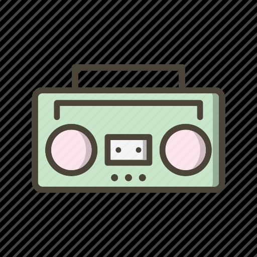Music, sound, audio tape icon - Download on Iconfinder