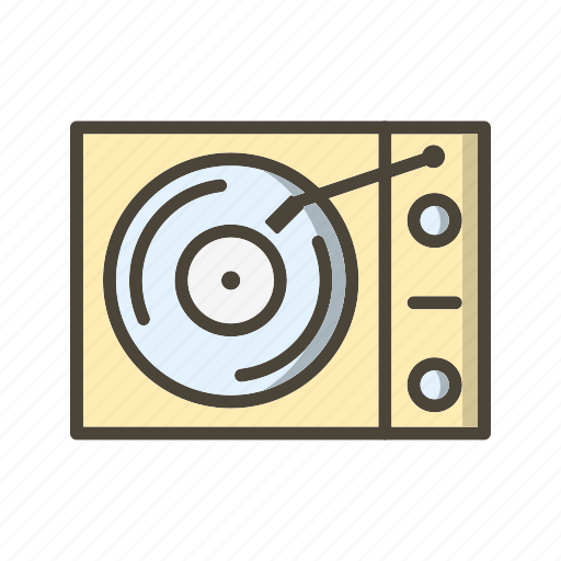 Vinyl player, music player, audio icon - Download on Iconfinder