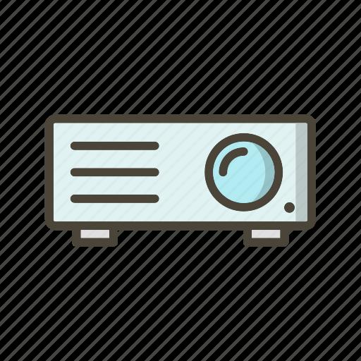 presentation, projection, projector icon