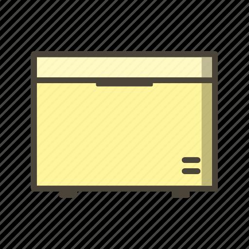 Deep freezer, fridge, refrigerator icon - Download on Iconfinder