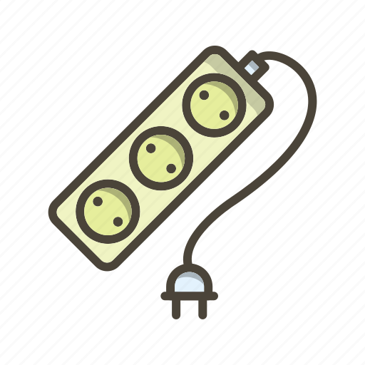 Extension, plug, electric cable icon - Download on Iconfinder