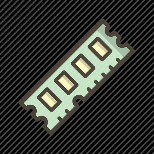 Memory, ram, random access memory icon - Download on Iconfinder