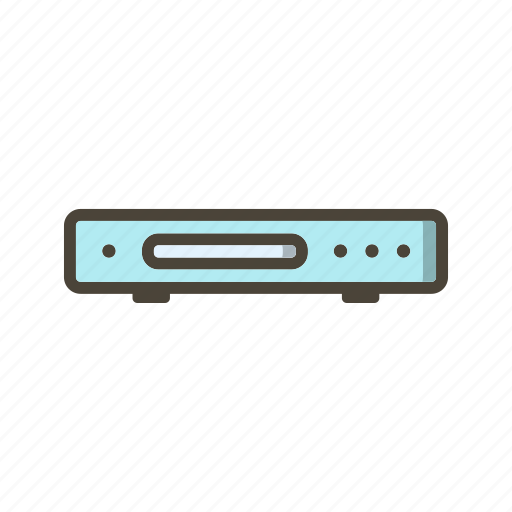 cd player, dvd player icon