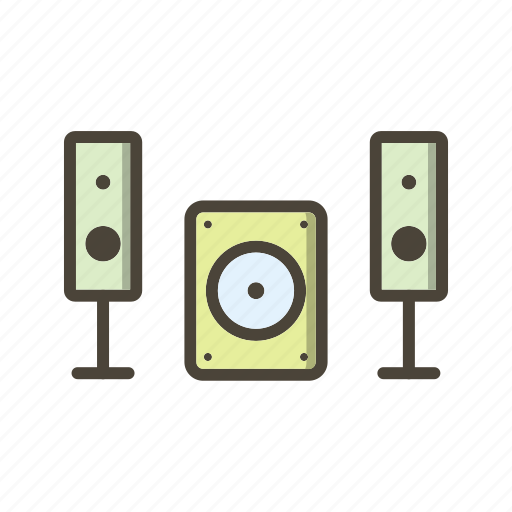 Music system, speaker icon - Download on Iconfinder