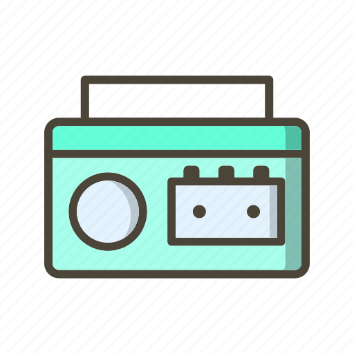 Cassette, cassette player, music icon - Download on Iconfinder
