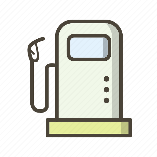 Fuel station, petrol pump, gas station icon - Download on Iconfinder