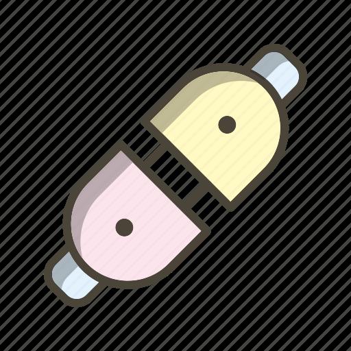 connector, plug connector, power plug icon