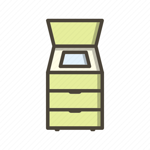 Scanner, photostat, fax machine icon - Download on Iconfinder