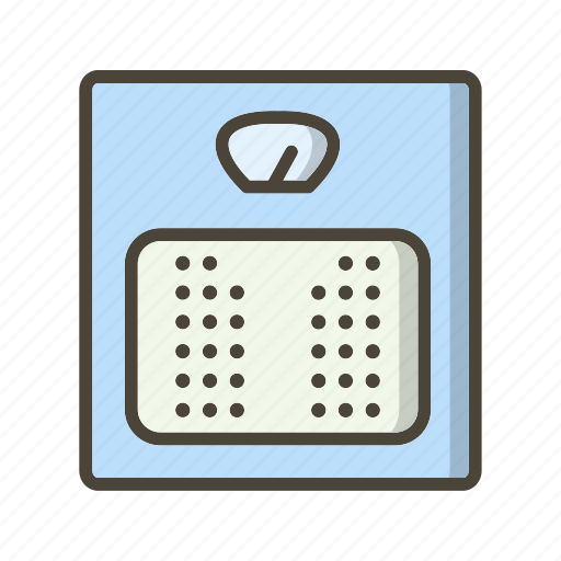 Weight machine, weighing, weight scale icon - Download on Iconfinder