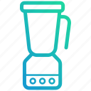 blender, device, electronic, gadget, juice, kitchen icon