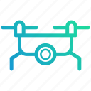device, drone, electronic, fly, gadget, gopro, technology icon
