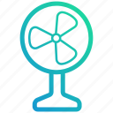 cooler, device, electronic, fan, gadget, wind icon