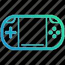electronic, game, gamepad, gaming, nintendo, playstation, portable, ps, psp, switch, vita icon