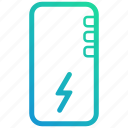 android, apple, bank, device, electronic, gadget, handphone, ios, phone, power icon