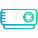 computer, device, electronic, it, presentation, projector icon