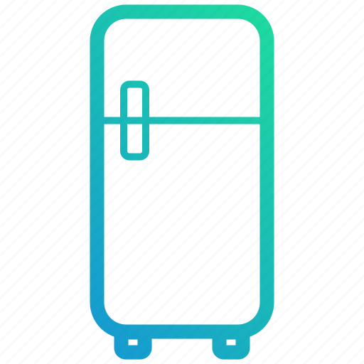 device, electronic, fridge, gadget, kitchen, refrigerator icon