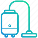 clean, cleaner, device, electronic, gadget, vacuum icon