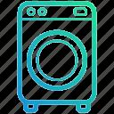 clean, device, electronic, gadget, machine, wash, washing icon