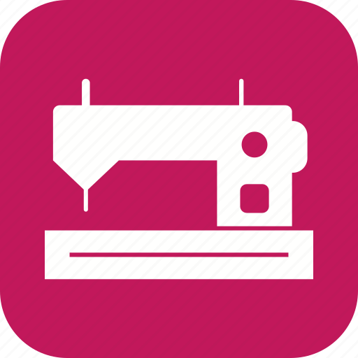 knit, sewing machine, tailoring icon