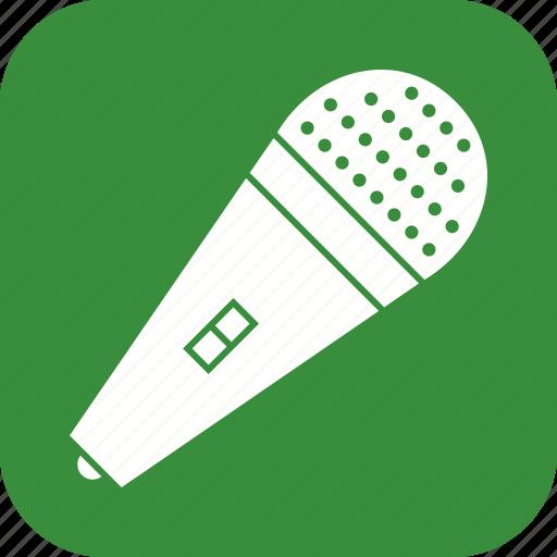 media phone, mic, microphone icon