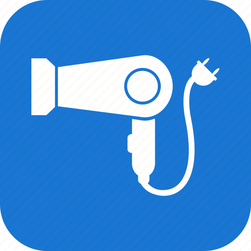 blower, hair dryer icon