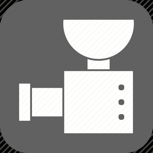 grinder, meat grinder icon