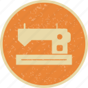 knit, sewing machine, tailoring icon