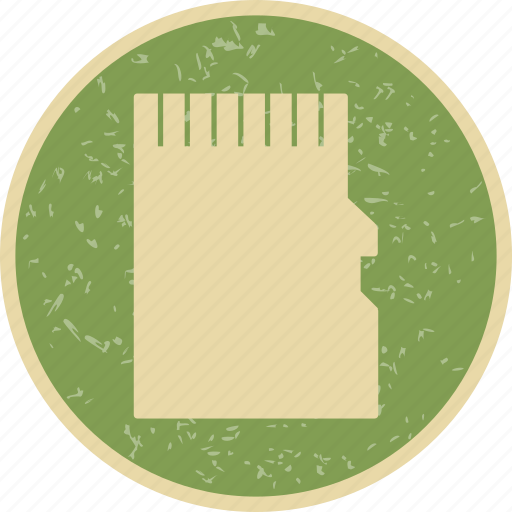 memory, memory card, sd card icon