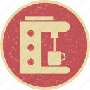 coffee, espresso, machine, maker icon