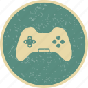 control pad, game pad, joy stick icon