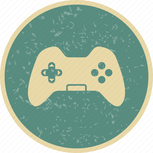 control pad, game pad, joy stick icon