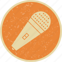 mic, microphone, record, recording icon