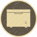 deep freezer, fridge, refrigerator icon