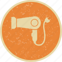 blower, dryer, hair, hairdryer icon