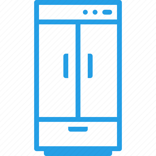 appliance, appliances, cold, freezer, fridge, kitchen, refrigerator icon