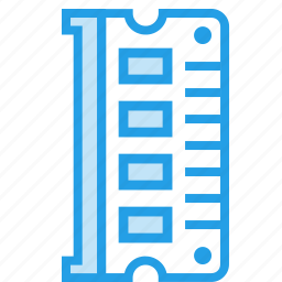 access, card, computer, hardware, memory, ram, random icon