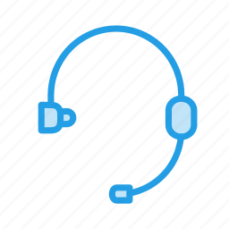 callcenter, earbuds, earphones, handsfree, headphone, headset, music icon