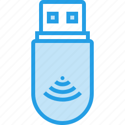connection, device, dongle, internet, usb, wifi, wireless icon