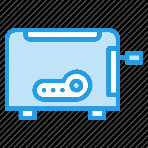 appliance, bread, breakfast, electronic, kitchen, toaster icon