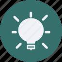 bulb, configuration, device, electronic, elements, equipment, light, multimedia, tecnology icon