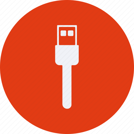 cable, configuration, device, electronic, elements, equipment, multimedia, tecnology, usb icon