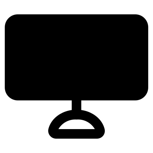 computer, electronic, lcd, monitor, screen icon