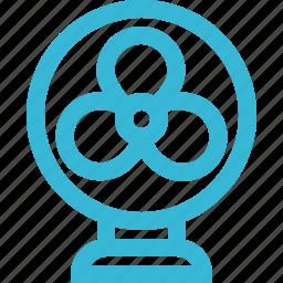 air, conditioner, cooling, fan, ventilator icon